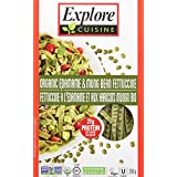 Explore Cuisine Organic Edamame Mung Bean Fettuccine Pasta, 200g