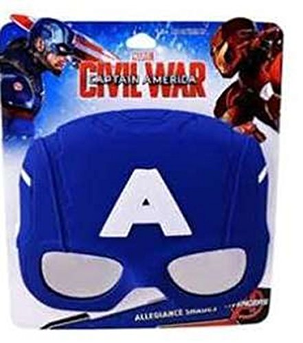 Marvel Captain America Sunstache Sunglasses -