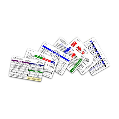 (Mini Nurse Horizontal Badge Card Set - 6 Cards)