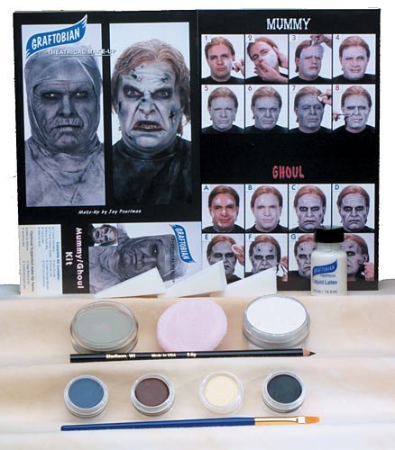 Graftobian Professional Mummy/Ghoul Complete Make-up Kit with Instructions for $<!--$21.94-->