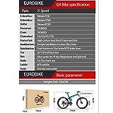 Eurobike Mountain Bike TSM G4 Bicycle 21 Speed 26