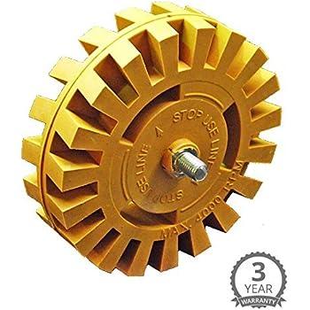 Amazoncom Decal Remover Eraser Wheel Remove Car Decals Vinyl - Custom vinyl decals stickers   removal options