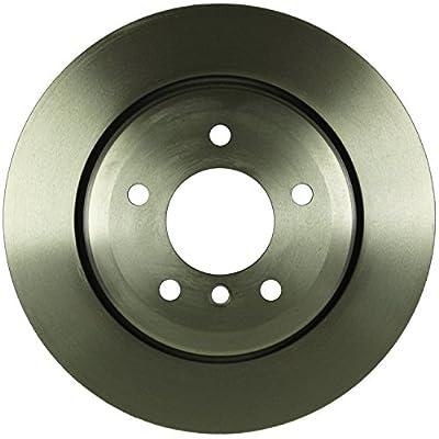 Bosch 15010123 QuietCast Premium Disc Brake Rotor For BMW: 2004-2007 525i, 2008-2011 528i, 2004-2007 530i; Rear: Automotive