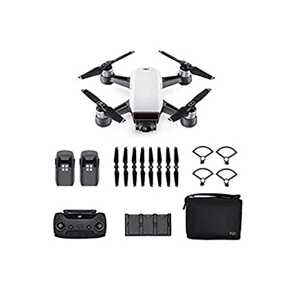 DJI Spark Fly More Combo - Dron cuadricóptero (full hd, 12 mpx, 50 ...