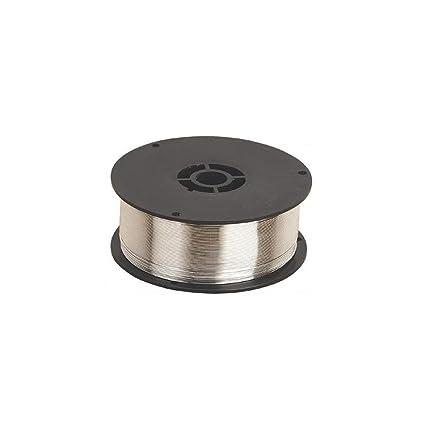 Alambre MIG con núcleo fundente núcleo fundente (0,9 mm, 0,45 kg, no ...