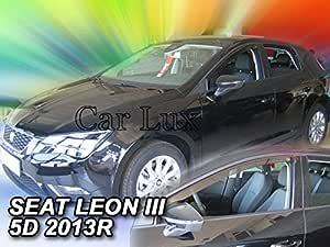 Derivabrisas Deflectores de Aire Cortavientos de Ventanillas Delanteros para 2008 Desde 2013 Car Lux AR05135