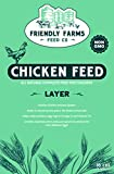 omega 3 chicken feed - NON GMO Chicken Layer Feed high in protein, vitamin enriched 100% USA produced and human safe.