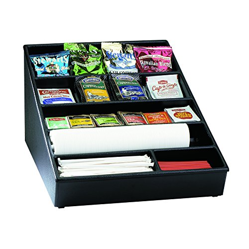 T Countertop Lid, Straw and Condiment Organizer, Wide (Polystyrene Countertop)
