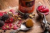 Jem Raw, Vegan, Organic Cinnamon Red Maca Almond Butter Spread