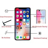 iPhone X 9H Super Hardness 2.5D Tempered Glass Screen Protector Clear Full Coverage Edge to Edge (FULL COVER 1 PACK)