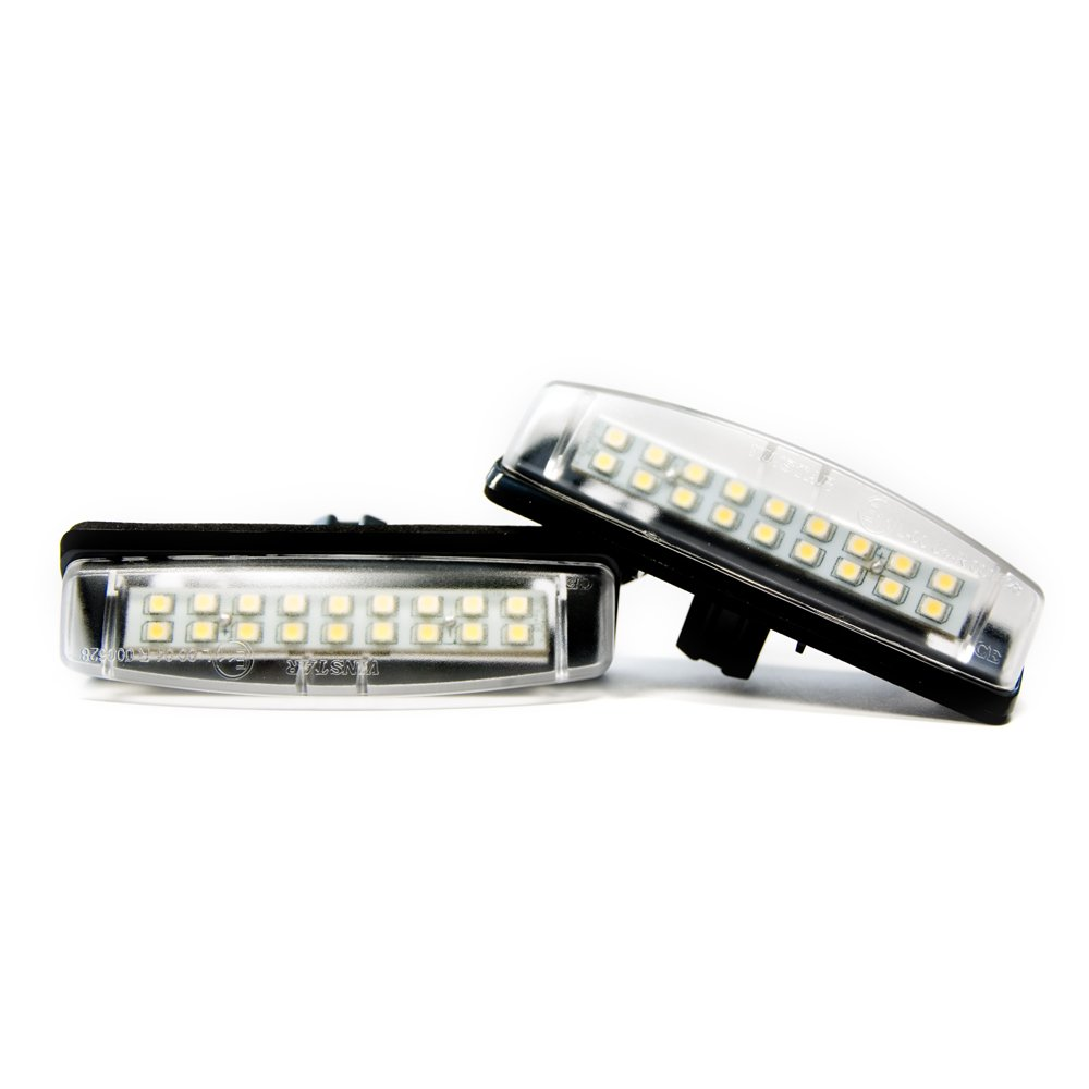 2 x LED Kennzeichenbeleuchtung Xenon 6000K Kennzeichen Leuchten TOP Vinstar