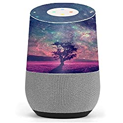 Skin Decal Vinyl Wrap for Google Home stickers skins cover/ Sky Tree Stars