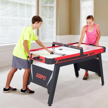 ESPN, 60″ Air- Powered Hockey Table and Great Recreational Activity for All Ages – DiZiSports Store
