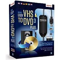 Roxio 251000EU - Conversor de vídeo (RCA, USB), Color Negro