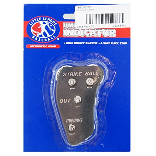 (3 Pack) LLB Umpire Indicator- Track Balls, Strikes, Innings & Outs LBB