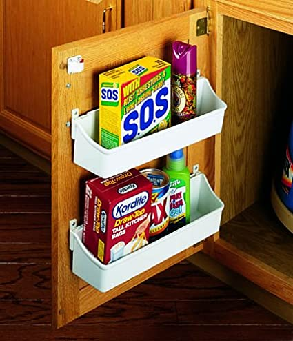 Cabinet Door Storage Trays Plastic Utility Storage Tray Sets 5