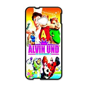 HTC One M7 phone cases Black Alvin and the Chipmunks cell phone cases Beautiful gifts UREN2402167