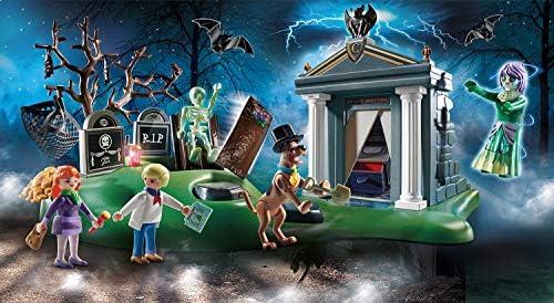 PLAYMOBIL SCOOBY-DOO! 70362 Abenteuer auf dem Friedhof, Ab 5 Jahren