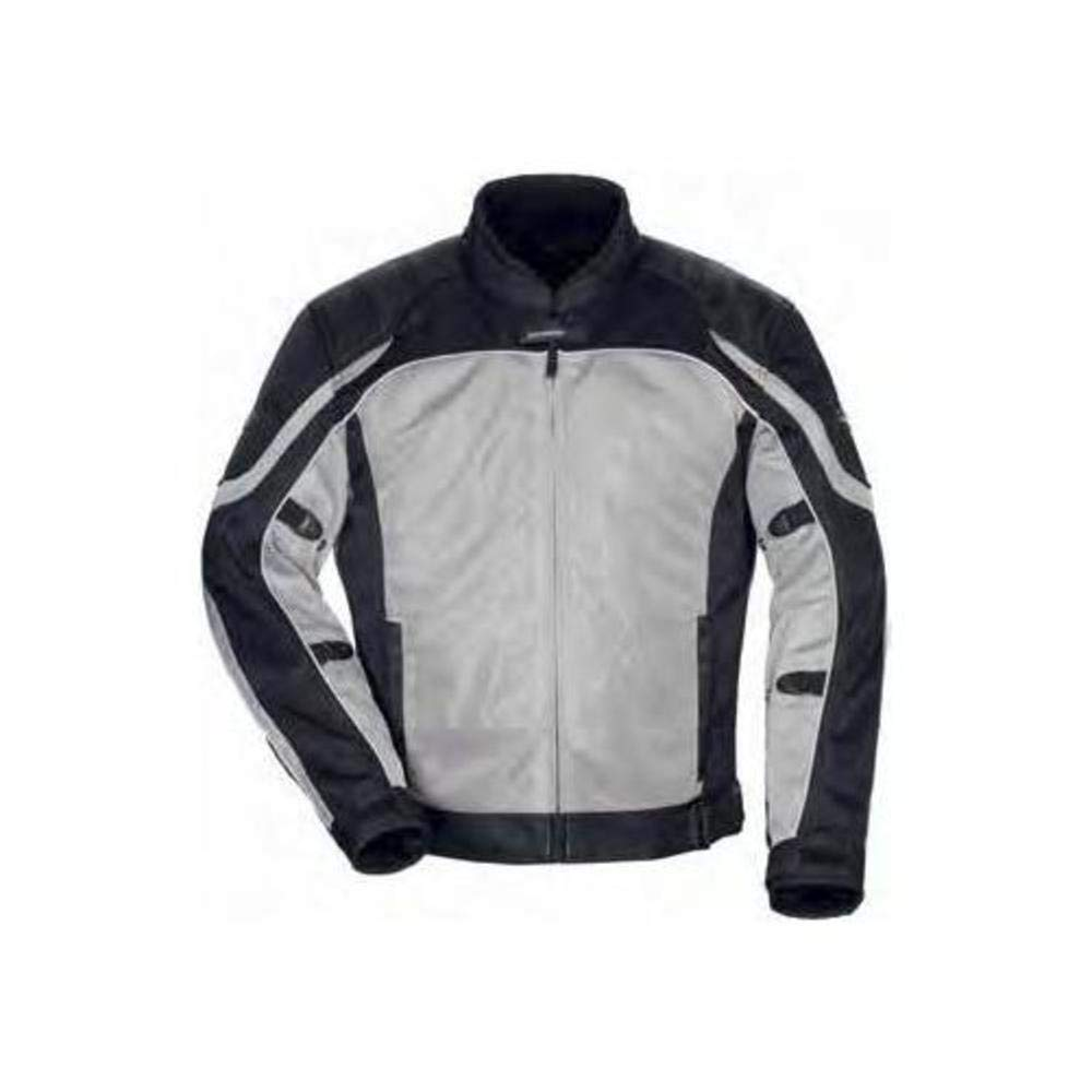 TourMaster Womens Intake Air 4.0 Jacket Silver//Black X-Small
