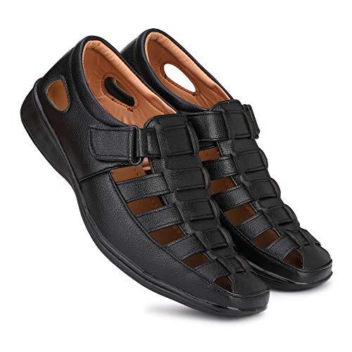 51BWnpBHNEL. SS500  - Amico Fine Leather Men's Sandals