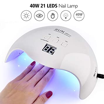 Polish Uv Toenail 40w Gelish Curing Gel Light Lamp Acrylic Led For Dryer Beautypical Fingernailamp; Nail wPNZnkO80X
