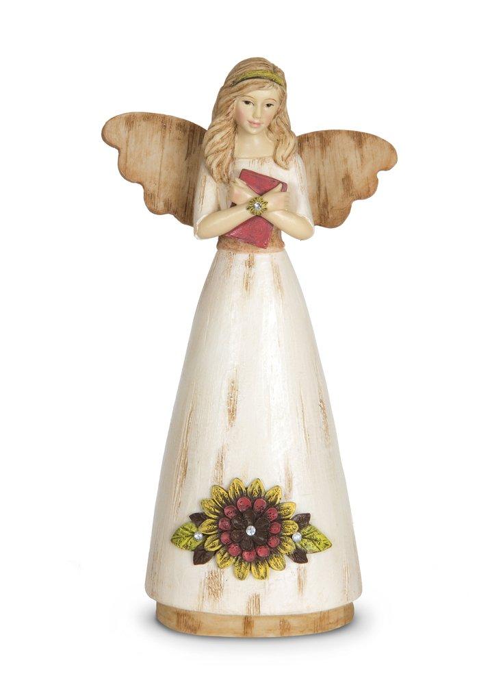 Pavilion Gift Company 41055 Simple Spirits Angel Figurine 6-Inch Teacher