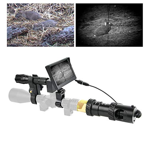 BESTSIGHT DIY Digital Night Vision Scope for Rifle Hunting with Camera and 5