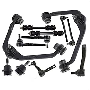 mac auto parts 145463 front suspension kit ball joints arms ford f150 f250. Black Bedroom Furniture Sets. Home Design Ideas