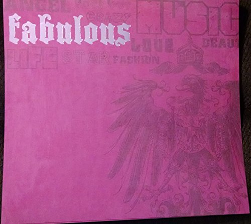 12x12 Rock Star Pink with Foil - 2 Sheets
