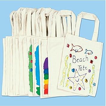 German Trendseller® – 5 unidades de bolsa pequeña de algodón para ...