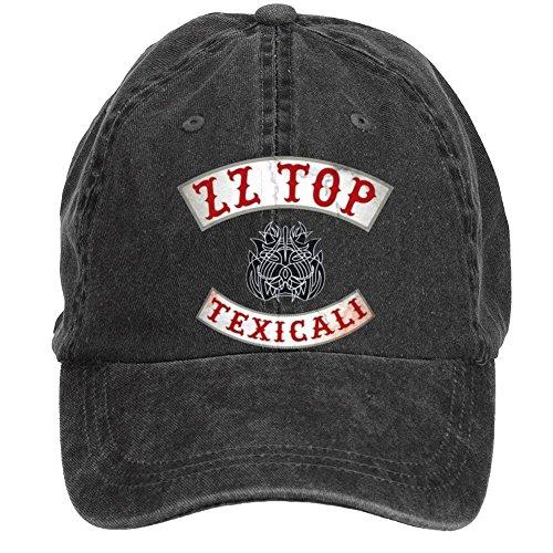 (Tommery Unisex ZZ Top Hip Hop Baseball Caps)