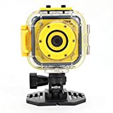 Children Kids Action Camera Digital Video Waterproof HD Camcorder DV for Holiday Birthday Gift