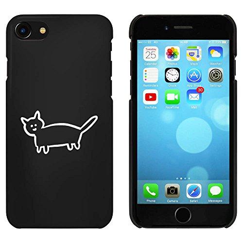 Noir 'Chat Mignon' étui / housse pour iPhone 7 (MC00086958)