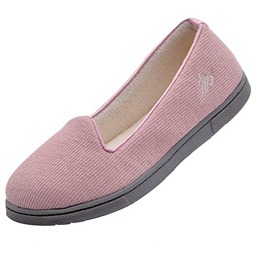 Wishcotton Light Breathable Slippers with Nonslip Sole ()
