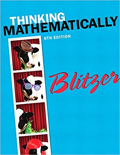 Thinking mathematically 6th edition robert f blitzer thinking mathematically 6th edition 6th edition fandeluxe Choice Image