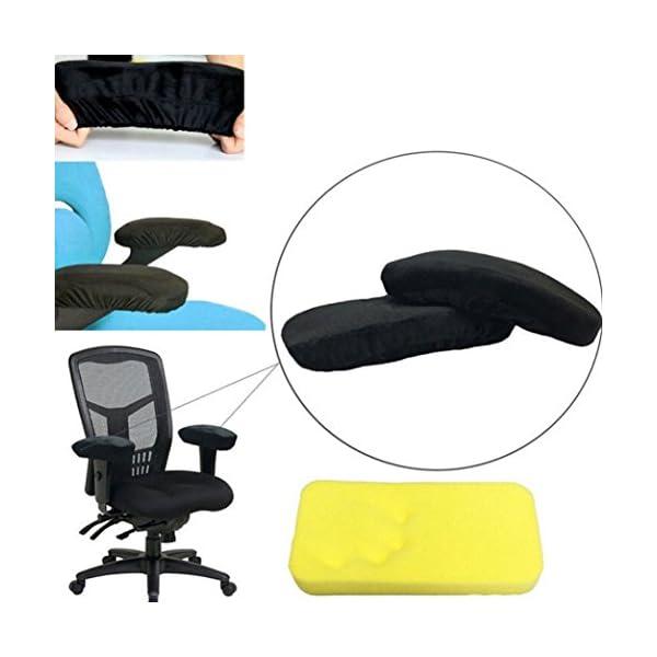 Cuscino in memory foam Taottao bracciolo bracciolo copertura sedia braccioli per gomiti 1 spesavip