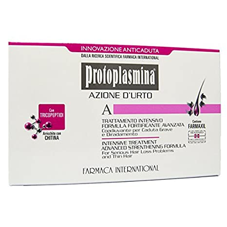 Protoplasmina Capelli Azione D urto 6 Fiale Da 8ml Anticaduta E Rinforzante eae285a37021