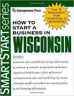 Book How to Start a Business in Wisconsin (Smartstart Series)