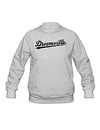 Dreamville Records Logo Women Hooded Sweatshirt Ash