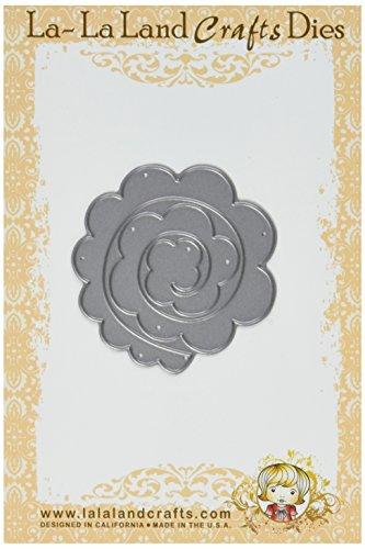 La-La Land Crafts 2.25-Inch by 2.25-Inch Die, Rolled Rose