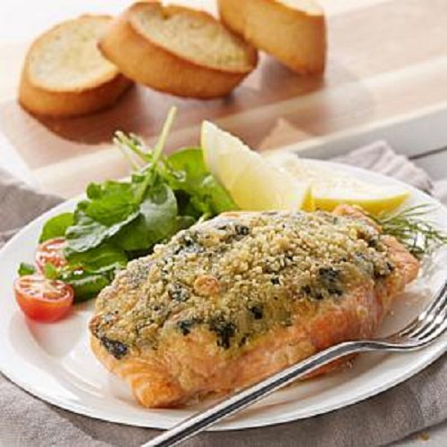 Legal Sea Foods Garlic Spinach Stuffed Salmon, 4 Count