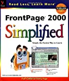 FrontPage 2000 Simplified, Ruth Maran, 0764534505