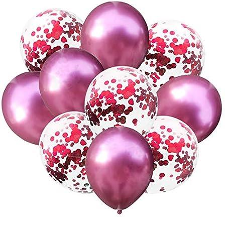 NBPMR 12 Pulgadas Globos Latex Baloon Cumpleaños Deco ...