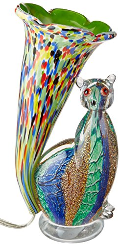 Dale Tiffany AA12093 Cat Lily Favrile Accent - Cat The Tiffany