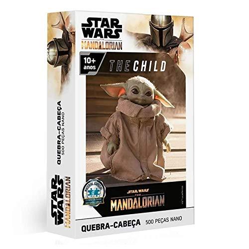 Quebra Cabeça 500 pç Nano -The Child - The Mandalorian - Star Wars