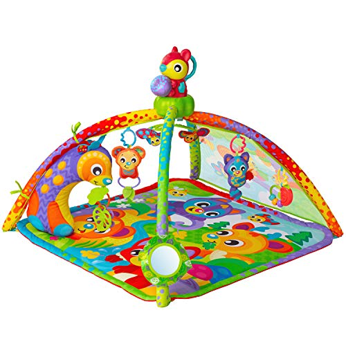 - Playgro 0186993 Woodlands Music and Light Projector Gym STEM for a Bright Future, Multi