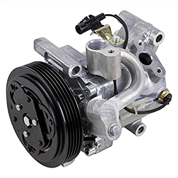 AC Compressor & A/C Clutch For Suzuki SX4 2007 2008 2009 - BuyAutoParts 60-02385NA New