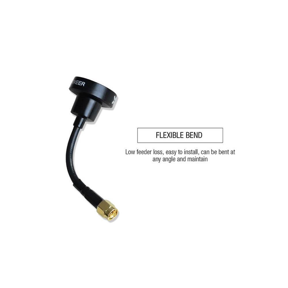 Foxeer Pagoda PRO Mini FPV Antenna 5.8G 2dBi RP-SMA RHCP Omnidirectional Antenna for FPV Racing Quadcopter Drone by ARRIS