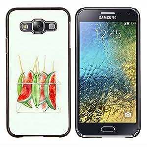 Dragon Case - FOR Samsung Galaxy E5 E500 - more than your ego - Caja protectora de pl??stico duro de la cubierta Dise?¡Ào Slim Fit