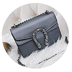 Female Lady Handbags Vintage Chain Personalized Small Bag Chain Square Shoulder Messenger Bags